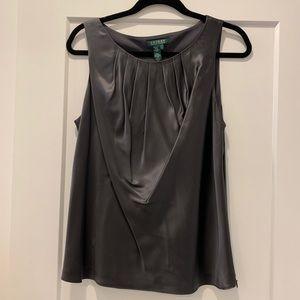 Ralph Lauren Silk Blouse Sz 12